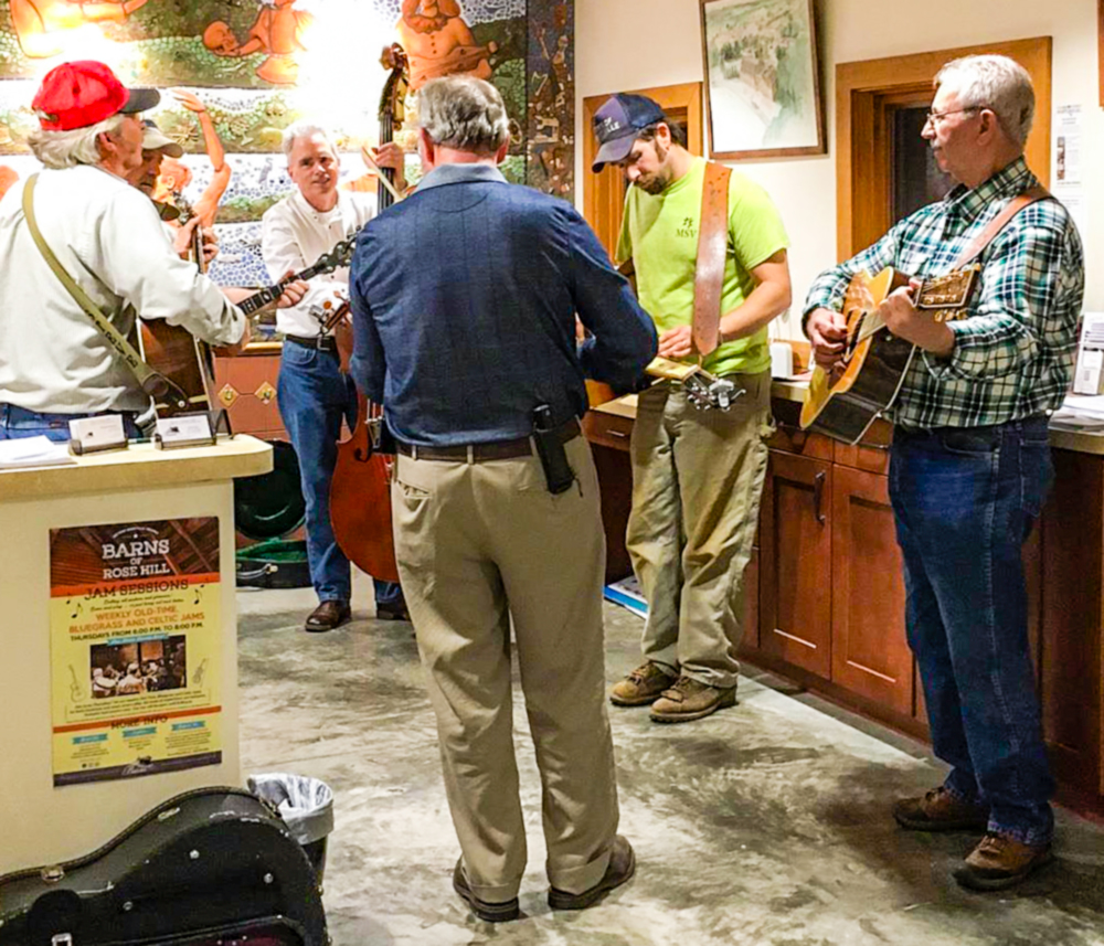 Bluegrass Jam Session